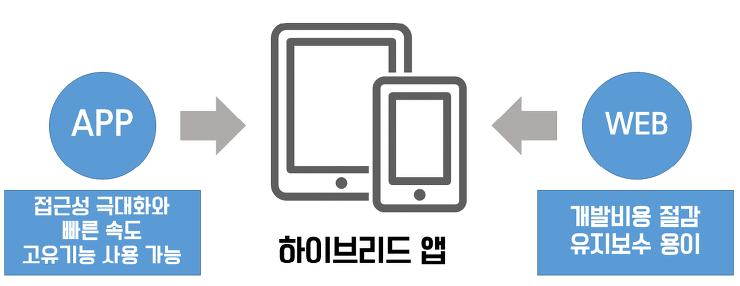 하이브리드 앱