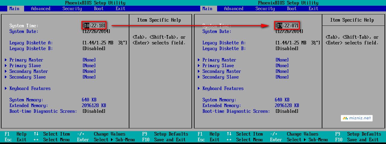 VMware ESXi 가상머신 시간 설정