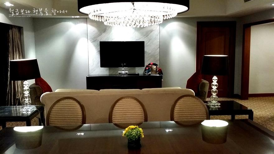쿠알라룸푸르 자유여행 호텔 추천 인터컨티넨탈 스위트룸