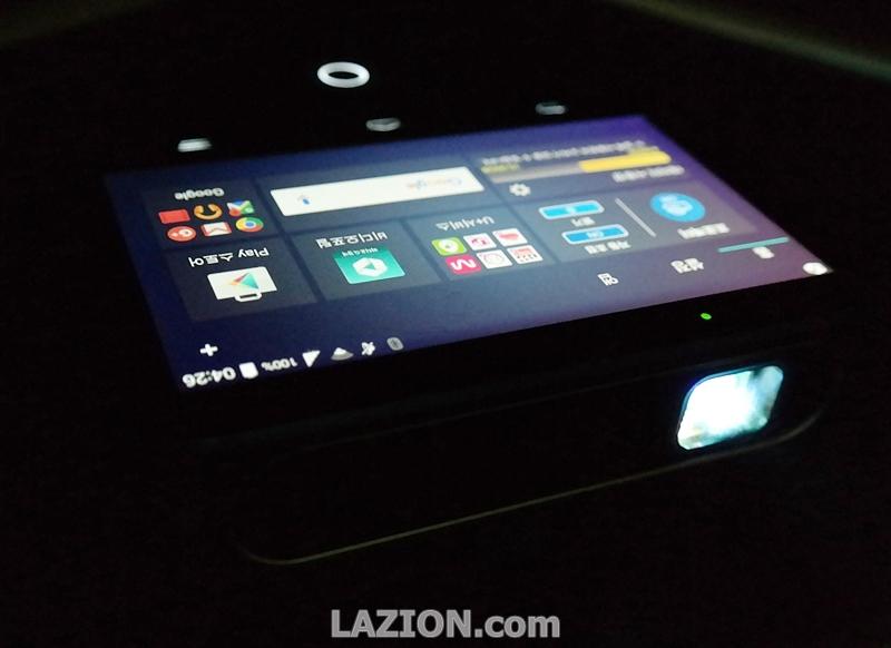 LTE와 만난 휴대용 빔프로젝터, U+ LTE 빔 SPRO2+