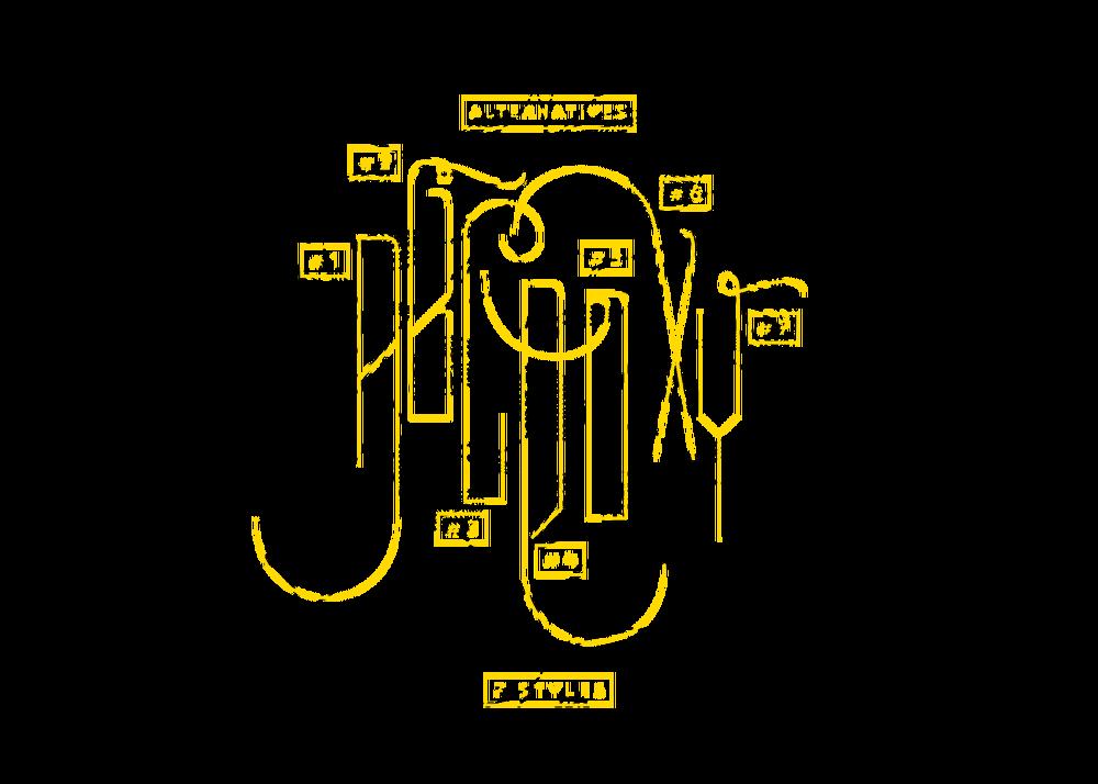 가는 선이 특징적인 무료 영문 폰트 - Luciana Typeface (Free Font)