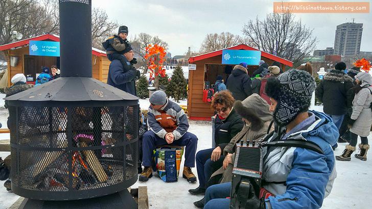 캐나다 겨울 축제 오타와 윈터루드 winterlude