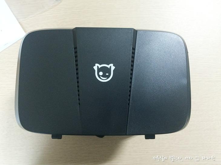 크로스오버 vr360, 시력보호 vr 기계