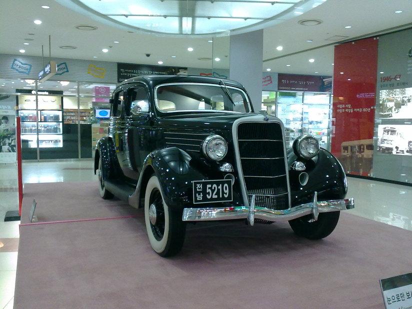 광주 광천버스터미널, 유스퀘어에서 본 오래된 자동차