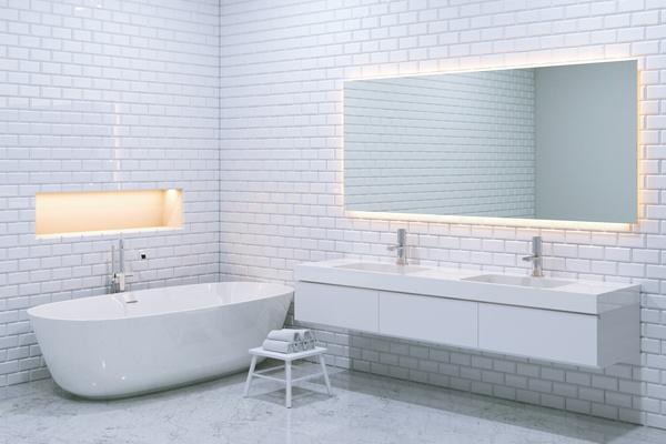 우아한 욕실 인테리어 HD 사진 02