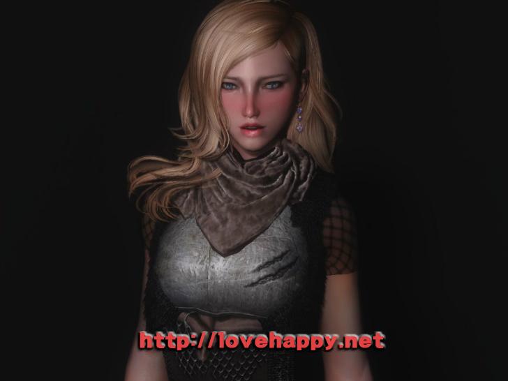 스카이림 의상 - 로그 의상 invader set-6 clothes skyrim mod 001