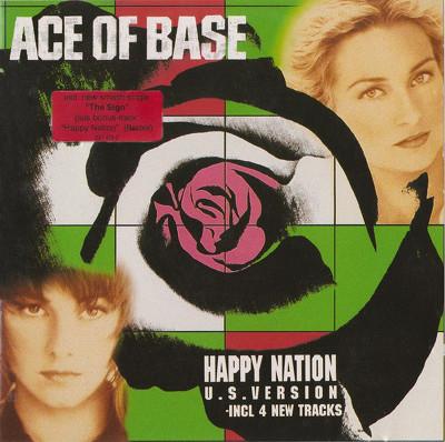 그룹 ace of base / Happy nation 표지