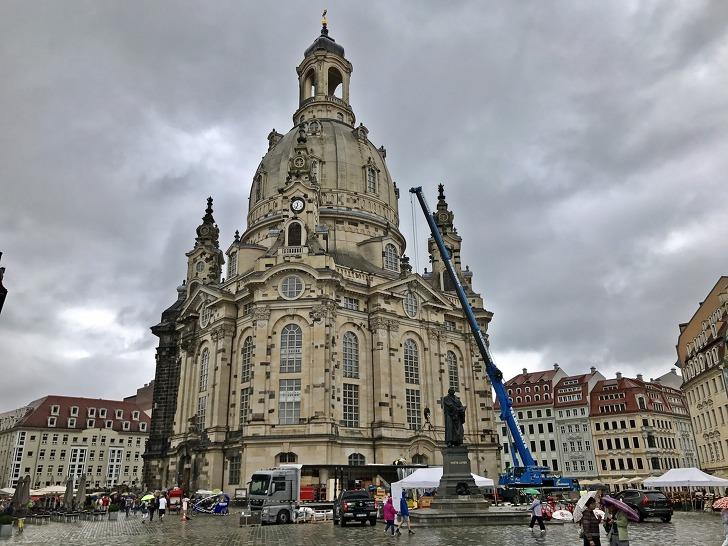 [드레스덴여행] 제2차 세계 대전때 파괴되었다 새로 복원된《드레스덴 성모교회(Frauenkirche Dresden)》