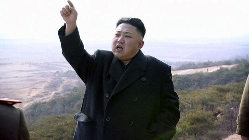 울컥해서 미사일 발사를 지속하고 있다는 북한 '김정은'