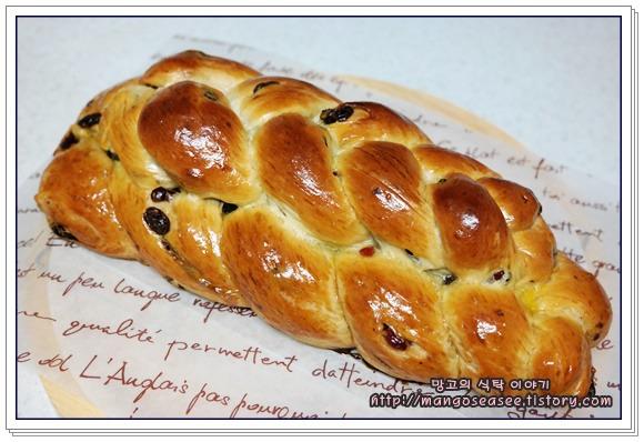 생크림으로 반죽한 독일 발효빵 헤페촙프