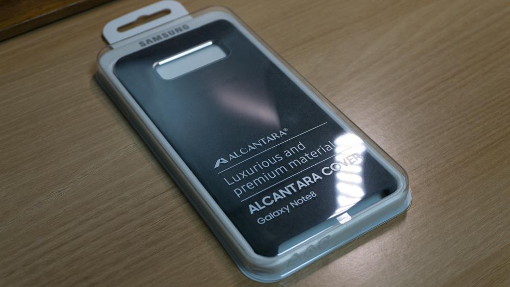 삼성 갤럭시 노트8 정품 알칸타라 케이스