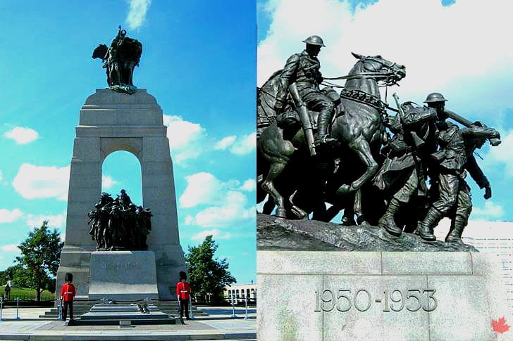 캐나다 국립 전쟁기념비입니다