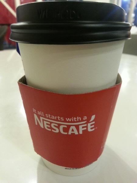 네스카페 컵