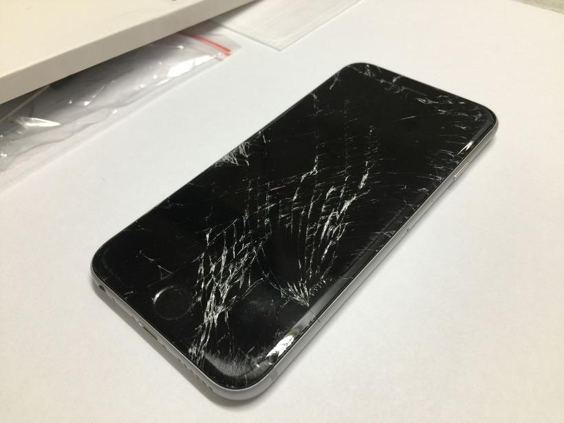 아이폰6 액정 파손