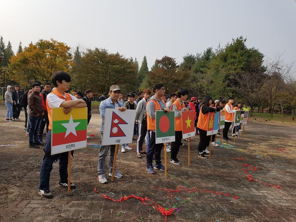 '좋은 이웃' 외국인 근로자 한마음 체육대회 개최