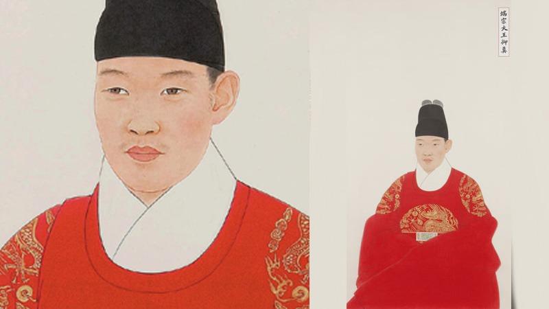 사진: 단종 어진. 김호석 화백 그림. 단종 죽음은 비극이었다.