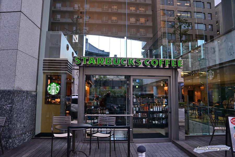 [일본/교토] 스타벅스 컨셉스토어 가라스마 롯카쿠점(京都烏丸六角店)