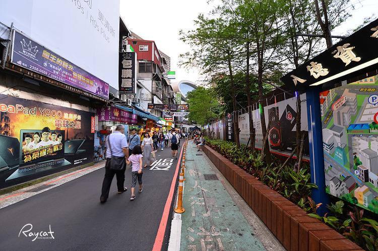 타이베이의 용산 광화상창 전자상가 나들이