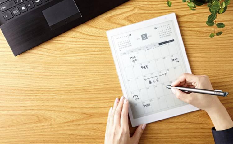 E-ink와 펜을 이용하는 태블릿, 소니 DPT-CP1 등장