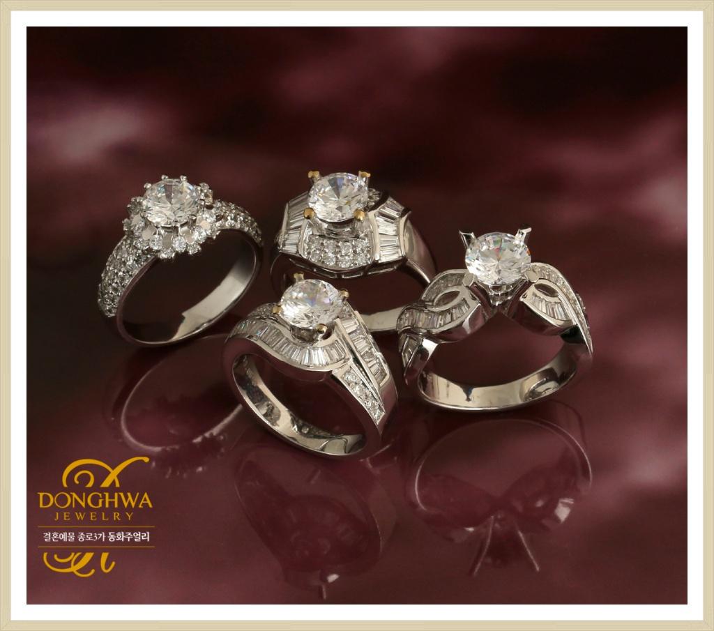 1캐럿다이아몬드 세트 어떻게 구성해야 합리적일까?