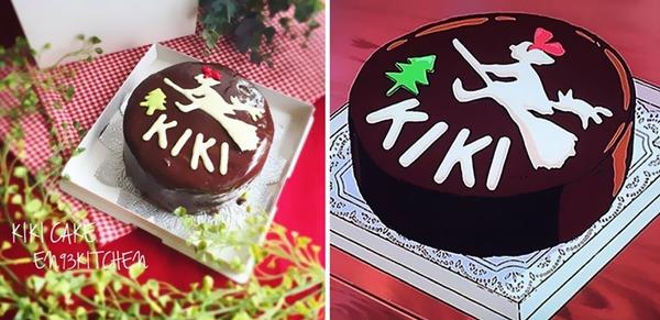 '마녀 배달부 키키' 케이크