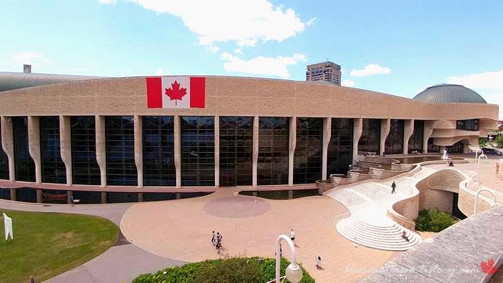 현 캐나다 역사 박물관입니다