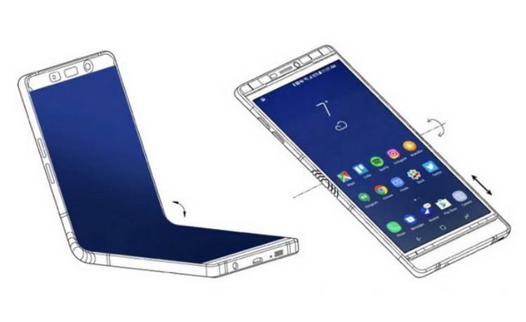 삼성 폴더블 스마트폰 갤럭시 X 루머와 예상 이미지
