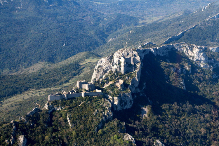 프랑스 페르페르튀즈성(Castle of Peyrepertuse)