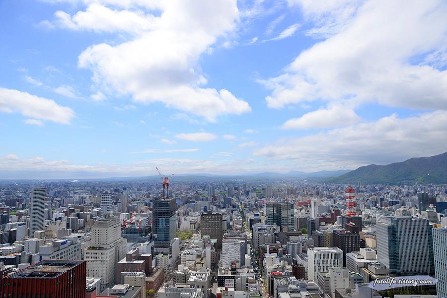 [일본/삿포로] 눈부시게 날씨가 좋아 올라갔던 JR타워 T38전망대