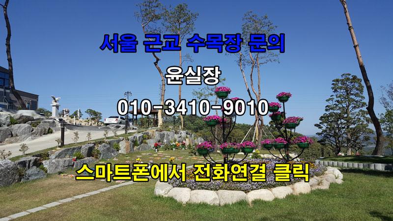 서울근교서울근처가족수목장추천