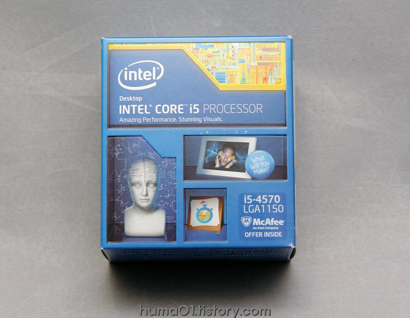 인텔 i5-4570 하스웰 CPU