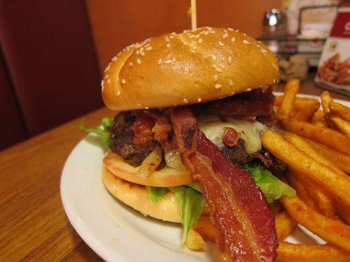 미국식 햄버거 스타일