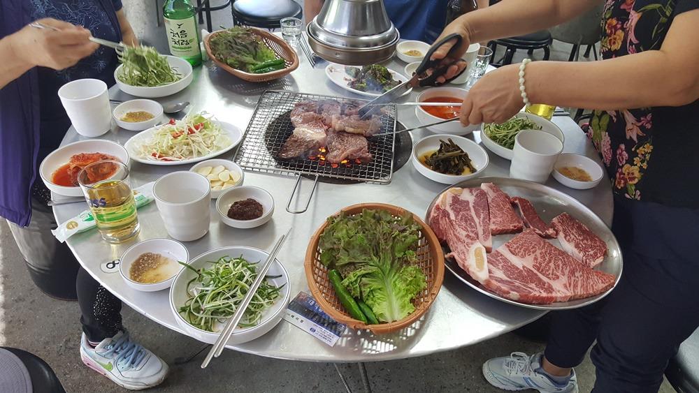[태백 맛집]연탄구이전문점 태백실비식당