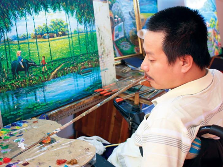 말하지 않으면 몰랐을 장애인 아티스트들의 작품