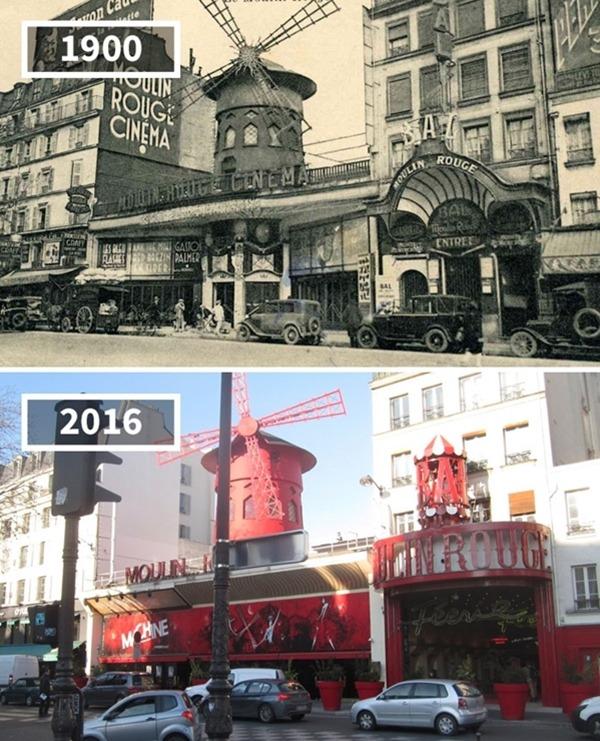프랑스, 파리, '물랑루즈', 1900~2016