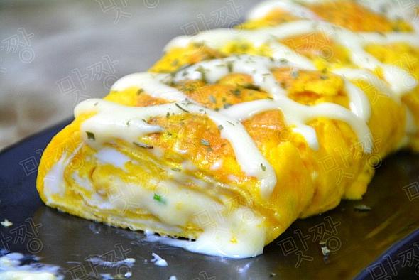 간식처럼 먹는 치즈 달걀말이(계란말이)