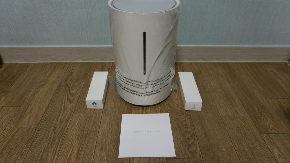 샤오미 가습기 박스 오픈