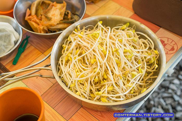 콩나물국밥 재료 콩나물