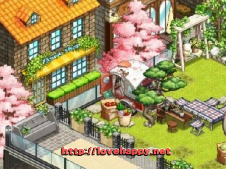 싱그러운 풀밭 위의 야외 캠핌장 아이러브 커피 인테리어 by sujun1942 003
